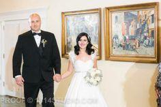 Bride and Groom walk down the aisle together. #secondwedding Our vintage glam fall wedding. #broach #newjersey #wedding #vintagewedding #fallwedding #glamwedding #glam #fall #wedding #peronafarms #nj #bride #groom #weddingplanning #vintage #bride #groom #justmarried #inspiration #weddingideas #masonjar #babysbreath #vintagebride #tealandgray #teal #gray #shrug #alenconlace #ostrichfeathers #brideshrug