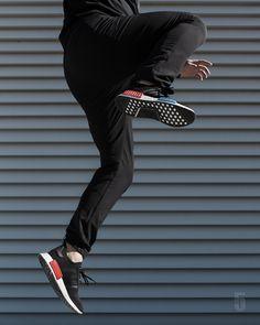 feetzi Cheap Adidas NMD R1 PRIMEKNIT ?TRI COLOR Grey BB2888