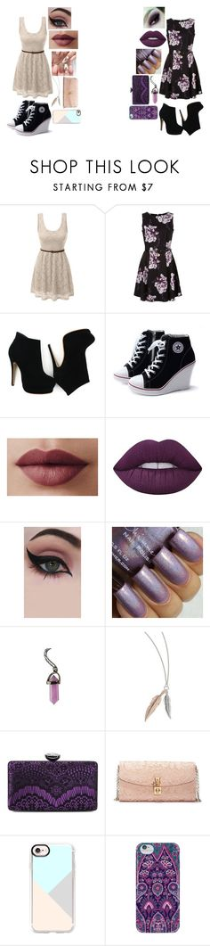 """Untitled #654"" by dino-satan666 ❤ liked on Polyvore featuring LE3NO, Lime Crime, Concrete Minerals, Hot Topic, Jessica McClintock, Dolce&Gabbana, Casetify and Nanette Lepore"