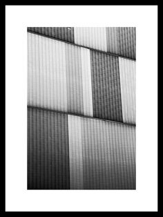 Warsaw Panels 1 Industrial Black and White by GrundyPhotography, €950.00