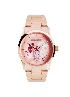 Watch for woman rock multi skull pink-Zadig&Voltaire