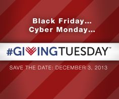 Museums make up the backbones of our communities. Most of them are non-profits and need help keeping their doors open. Please make it a tradition- Donate to a museum or related organization in need during the Holiday season.  #GivingTuesday 2013. Please share this!