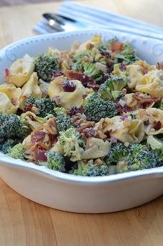 Tortellini Broccoli Salad-101.jpg by From Valerie's Kitchen, via Flickr