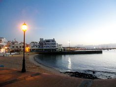 Fuerteventura, Corralejo alle prime luci dell'alba