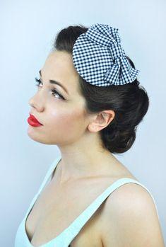 Mini Chapeau Voile ressort Minihut Kopfschmuk épingle à cheveux Fascinator vieux rose