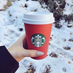 It's Not Winter Unless The Red Cups Are Out  ♡ Pinterest :  @1kco0zwe8r4mzzk