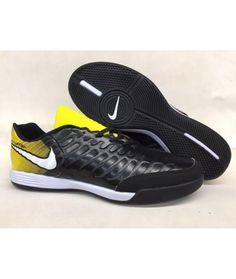 b13113b9d2a Nike Tiempo Legend VII IC Herren Fußballschuhe Schwarz Gold Schwarz