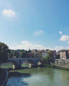 """""""• WHEN IN ROME, DO AS ROMANS DO ~ S'émerveiller de l'architecture  Throwback triptyque de la ville éternelle, visitée l'année dernière. _ #rome #roma #italy #italia #italiaamoremio #italie #citaeterna #architecture #architettura #bridge #tibre #tevere #tiber #romanarchitecture #travel #river #vscocam #travelphotography #travelgram"""" by @gipsy91. #fslc #followshoutoutlikecomment #TagsForLikesFSLC #TagsForLikesApp #follow #shoutout #followme #comment #TagsForLikes #f4f #s4s #l4l #c4c…"""