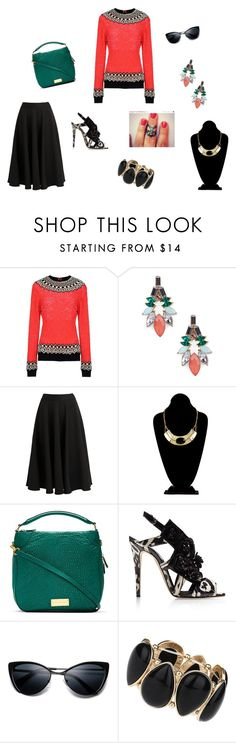 """""""Untitled #212"""" by joshua-d-tyson ❤ liked on Polyvore featuring Manish Arora, Sole Society, Closet, Marc by Marc Jacobs, Brian Atwood and Dorothy Perkins"""