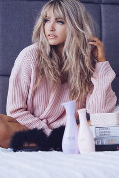 57 Of The Most Beautiful Long Hairstyles With Bangs  HAIR  MAKEUP - messy hairstyles blonde messy hairstyles  for prom | messy hairstyles  anime | messy hairstyles  for engagement | messy hairstyles  videos | messy hairstyles  with bangs #hairstyles #blonde #messyhairstyles Long Fringe Hairstyles, Top Hairstyles, Summer Hairstyles, Latest Hairstyles, Blonde Hairstyles, Formal Hairstyles, How To Cut Bangs, Long Hair With Bangs, Long Haircuts With Bangs