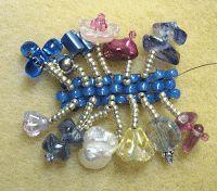 Janies Beads -- Adding the fringe 2 of 2