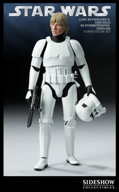 Sixth Scale Figure - Han Solo and Luke Skywalker in Stormtrooper Disguise #2179