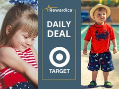 It's never too early to prepare for summer. Shop for the entire family at Target and earn 1% back in free gift cards through Rewardica.