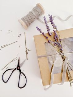 Lavender Wrapping
