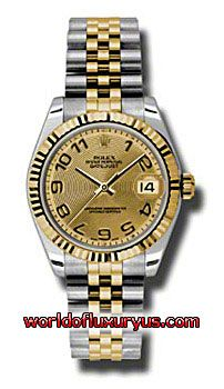 This Rolex Oyster Perpetual Datejust Gold Yellow Mens Watch, 178273-CHCAJ features 31 mm Stainless Steel case, Yellow Gold dial, Sapphire crystal, Fixed bezel, and a Stainless Steel and 18K yellow gold bracelet. Rolex Oyster Perpetual Datejust Gold Yellow Mens Watch, 178273-CHCAJ also features Automatic movement - See more at: http://www.worldofluxuryus.com/watches/Rolex/Datejust/178273-CHCAJ/641_642_6542.php#sthash.1UDXWN0s.dpuf