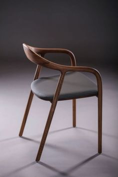 Neva Chair is a minimalist design created by Croatia-based designers Ruđer Novak-Mikulić & Marija Ružić. The Neva Chair is available in six different wood finishes, including oak, cherry, maple, pear, elm, and walnut. There is also the option to add upholstery to the seat, which can come in either leather or fabric. (5)