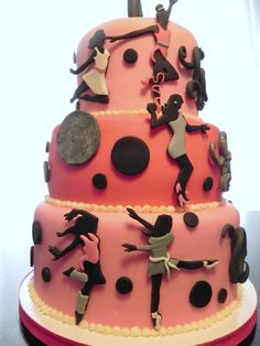 Love to dance cake...for Jocey's birthday party!
