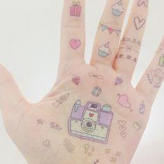 Pom Pom pompom.mx  #illustration #tatuajes temporales