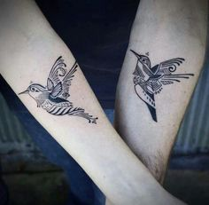 tattoo - bird  - beija-flor                                                                                                                                                                                 Mais