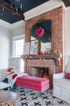 Our Colorful Whimsical Elegant Valentine s Day Living Decoration, Decoration İdeas Party, Decoration İdeas, Decorations For Home, Decorations For Bedroom, Decoration For Ganpati, Decoration Room, Decoration İdeas Party Birthday. #decoration #decorationideas