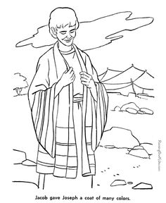jacob these free printable bible coloring sheets and pictures are fun for kids