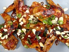 Moist chicken wings are coated in a Korean-inspired BBQ sauce in this delicious Sous Vide recipe.