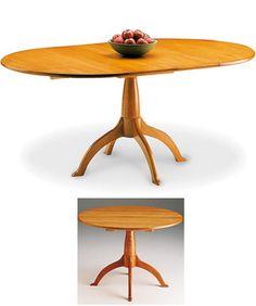 Shaker Round Pedestal Table