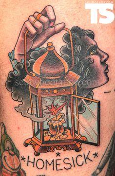 As tattoos de Seth Wood                                                                                                                                                                                 Mais