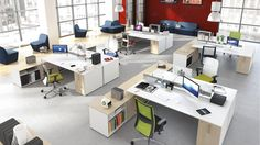 Operatív és vezetői munkahelyek - Poziteam Office Meeting, Meeting Table, Executive Office Furniture, Central Business District, Bedroom Office, Kitchen Living, Corner Desk, Kitchen Appliances, House