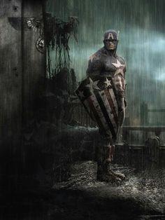 Captain America by Giuseppe Montalbano http://linktrack.info/.my8n