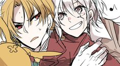 D.Gray-man Allen Walker and Howard Link