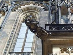 St. Vitus Cathedral in Prague, #czechrepublic #cathedral #beautifulplaces