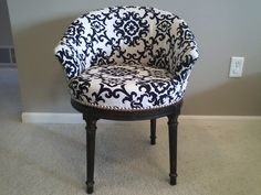 Thrifty Treasures: Chair makeover