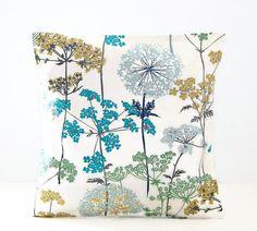 16 inch dandelion meadow decorative pillow by LittleJoobieBoo