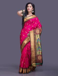 Meghana Paithani Silk Saree