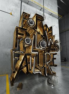 Form Follows Failure by David McLeod, via Behance
