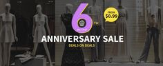 Sammydress 6th #Anniversary #Sale: From $0.99 + Extra #Coupon https://clothingtrial.com/coupon/sammydress?utm_content=bufferd2d58&utm_medium=social&utm_source=twitter.com&utm_campaign=buffer  @SammyDress