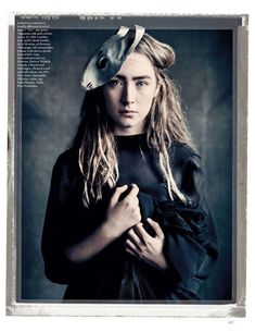 Saoirse Ronan photographed by Paolo Roversi - Vogue UK: April 2013 - Put a Spell on You