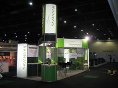 Savannha system exhibition stand (8m x 3m) Cosmetex South Africa 2012