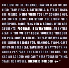 last high school football game poem - Google Search