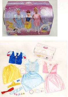 Amazon.com : Disneys Princess Dress up trunk with accessory. : Dress Up Clothes For Little Girls : Toys & Games