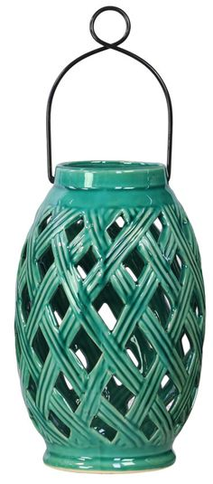 Ceramic Lantern...wow Wayfair really?  just got 4 of these from Wally World for $3.00 ea on clearance
