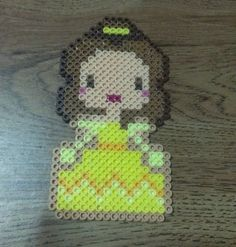 """This is a made-to-order item.     Each item is handmade by me using Perler, Hama, and Nabbi beads.    Each Disney Princess is approximately 3.5"""" x 5.5"""".    I will ship out your item within 2 business days of cleared payment."""