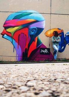Skià #streetart #art #graffiti #dope