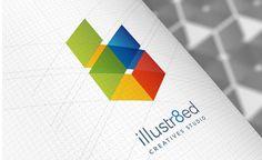 illustr8ed Creative Studio Branding by Modisana Hlomuka, via Behance