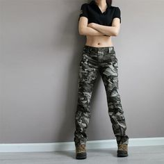New Fashion Plus Size Camouflage Trousers Camo Pants for Women Cargo Pants Women&Man Army Fatigue Pant Loose Baggy Pants Women, $58.63 | DHgate.com