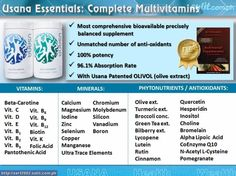 usana essentials benefits - Google Search