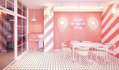 Ah-chu ice cream café by Wanderlust, Gimpo – South Korea » Retail Design Blog