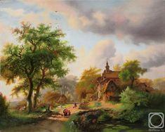 живопись голландских мастеров пейзажи: 7 тыс изображений найдено в Яндекс.Картинках City, Painting, Image, Painting Art, Cities, Paintings, Drawings