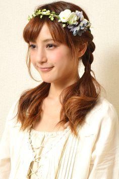 mori girl hairstyles